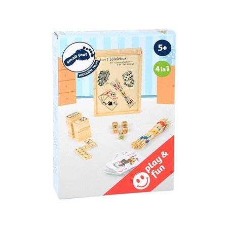 4-in-1 game set