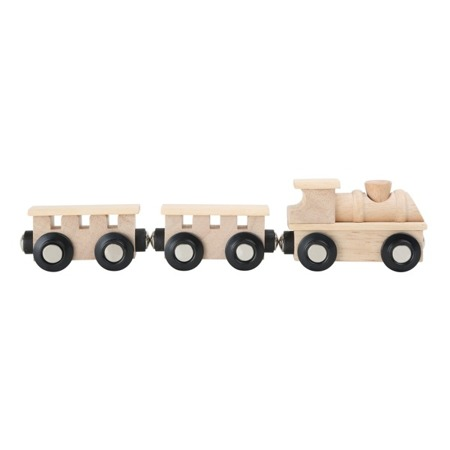 """Classic"" Natural Wooden Train"
